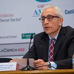 """Manuel Lozano, director del Grupo Multimedia de Comunicación La Cerca, en el III Fórum """"Castilla-La Mancha de Cerca""""."""