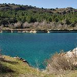 Parque Natural de las Lagunas de Ruidera, entre las provincias de Albacete y Ciudad Real.