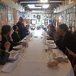 Almuerzo de trabajo que ha mantenido Asociación de la Empresa Familiar de Castilla – La Mancha, Alcalde de Albacete y empresas familiares de la provincia de Albacete .