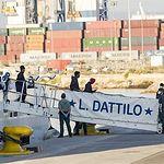 Llegada migrantes Aquarius a Valencia - 17-06-18