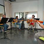 Aula de Guitarra Española en la Universidad Popular de Albacete.