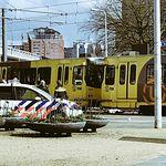 Tiroteo en Utrecht. Foto: twitter @xavier_torrens.