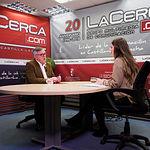 Ramón García, alcalde de Hellín, junto a la periodista Carmen García. Foto: Manuel Lozano García / La Cerca