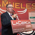 """Juan Cantos """"Pimpi de Albacete"""" en la Gala de entrega de los XI Premios Taurinos Samueles correspondientes a la Feria de Taurina de Albacete 2016"""