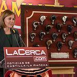 María Dolores Cospedal en los IX Premios Taurinos Samueles que entrega La Cerca.