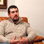 Eduardo García, director del Centro Asociado de la UNED en Albacete, en un momento de la entrevista.