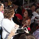 Visita de la Ministra de Trabajo, Magdalena Valerio, a la Feria de Albacete 2018.