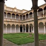 Claustro del Convento de la Asunción de Calatrava en Almagro (Ciudad Real).