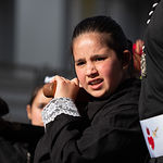 """Procesión """"Dejad que los niños se acerquen a mi"""" en el Lunes Santo de la Semana Santa de Albacete"""