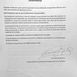 Parte médico Mariano de la Viña - Doctor Carlos Val-Carreres, cirujano jefe de la enfermería de la plaza de toros de Zaragoza.