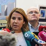 Agustina García, consejera de Fomento de la JCCM