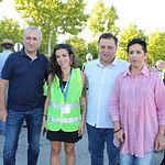 Manuel Serrano agradece a los más de 500 albaceteños que participan en la VI Marcha Nocturna 'Andando por el Parkinson' su generosidad y compromiso con las personas con Parkinson y sus familias