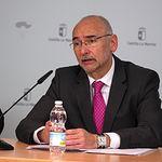 """Manuel Tordera, director general de Salud Pública y Consumo de la Consejería de Sanidad  Presentación programa """"Clase sin Humo"""""""