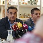 Manuel Miranda durante el desayuno informativo de la candidatura del PSOE de Albacete a las Elecciones Generales del 10N. Foto: Manuel Lozano Garcia / La Cerca