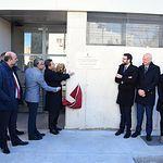 Inauguración del pabellón del IES 'Pedro Mercedes' de Cuenca.