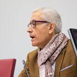 Manuel Lozano Serna, director del Grupo Multimedia de Comunicación La Cerca, en el III Encuentro Empresarial de Cruz Roja Albacete
