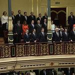 Cospedal en Tribuna Presidentes - Proclamación Felipe VI. 19-06-14