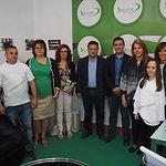 Visita a los stands de asociaciones sociosanitarias en la Feria de Albacete 2017