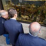 Inauguración del Belén de Globalcaja en Albacete. Foto: Manuel Lozano García / La Cerca