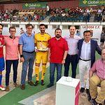 El alcalde de La Roda desea los mayores éxitos al Albacete Balompié.
