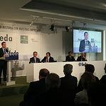 Emiliano García-Page, en el 40 Aniversario de FEDA.