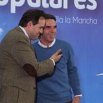 José María Aznar participa en un acto del PP en Albacete.