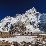 Amiab en el Everest. Foto: www.dealvarosanz.com