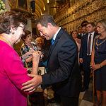 El presidente de Castilla-La Mancha, Emiliano García-Page, asiste a la Misa Pontifical y actos conmemorativos de la festividad de la Virgen del Sagrario en la Catedral Primada de Toledo. (Foto: A. Pérez Herrera / JCCM). Foto: Foto:Ana Perez//JCCM