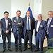 El consejero de Agricultura, Medio Ambiente y Desarrollo Rural, Francisco Martínez Arroyo, mantiene una reunión con el director general de Medio Ambiente en Europa. Foto: JCCM.