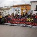 Manifestación contra ATC en Villar de Cañas -Cuenca.