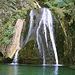 Los bellos rincones que forma el agua que cae de la cueva de Los Chorros, suponen un deleite para los sentidos.