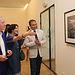 El viceconsejero de Cultura, Jesús Carrascosa, durante la apertura de la exposición 'Paisajes' de John Davies, dentro del proyecto 'Visiones de La Mancha'. Foto: JCCM.