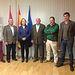 Soriano se reúne con representantes de ASAJA del Campo de Montiel. Foto: JCCM.