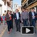 Emiliano García-Page en un acto y visita a Caudete (Albacete)