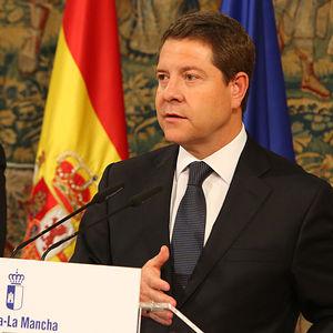 El Presidente García-Page presenta el Plan Extraordinario de Empleo para 60.000 desempleados en la Región. Foto: JCCM.