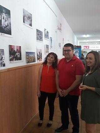 """Inaugurada la Exposición de Fotografía de UGT Albacete, bajo el lema """"Unión General de Trabajadoras"""""""