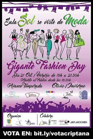 Cartel Gigante Fashion Day.