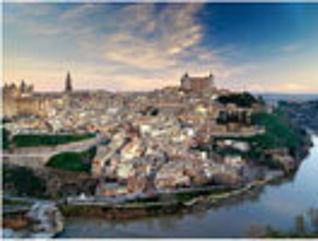 Río tajo a su paso por Toledo. Foto de Archivo.