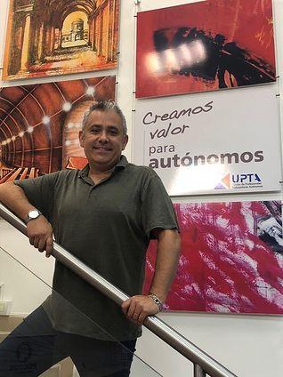 Cesar García, secretario general UPTA CLM.