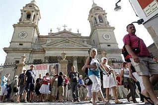 Gasto turistas internacionales. Foto: EFE.
