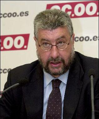 José María Fidalgo, secretario general de CCOO.