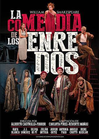 Cartel de la obra 'La comedia de los enredos'