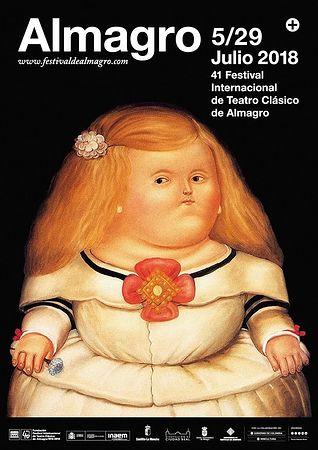 Cartel Festival de Almagro 2018.