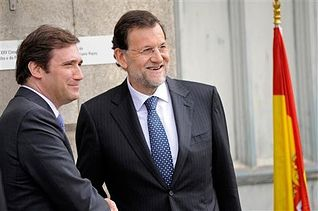 Mariano Rajoy se reúne con Passos Coelho. Foto: Foto archivo Moncloa.