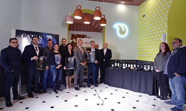 Presentación del ciclo de catas D.O.P. Jumilla que se celebran dentro del sello 'Murcia, Capital Española de la Gastronomía 2020'. Foto: JUANCHI LOPEZ