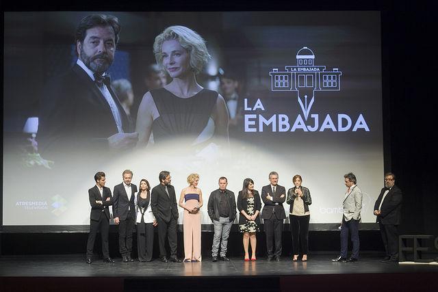 Presentación de 'La embajada' en el Teatro Circo de Albacete. Foto: FesTVal