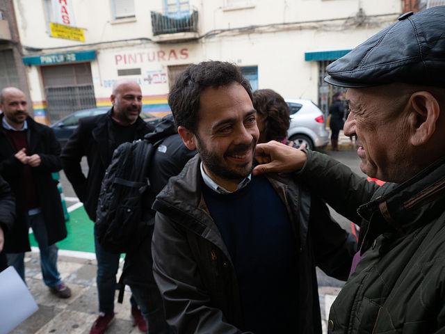 Acto de campaña de Unidas Podemos en Albacete