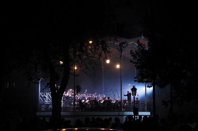 Espectáculo piromusical de cierre de la Feria de Albacete 2019. Foto: Manuel Lozano Garcia / La Cerca