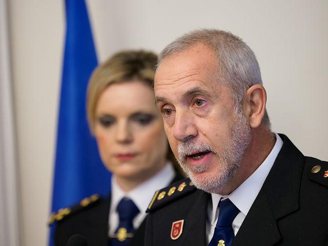 Toma de posesión de Florentino Marín, como nuevo Comisario de la Policía Nacional en Albacete
