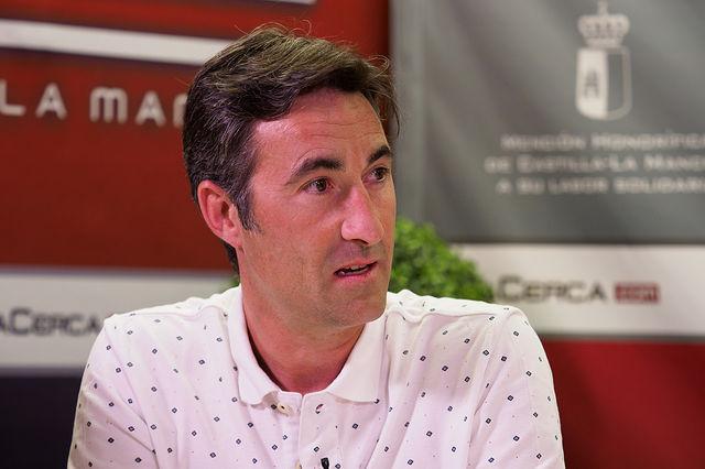 Sergio Martínez, torero, profesor de la Escuela Taurina de Albacete